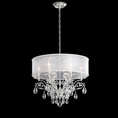 Traditional crystal chandeliers are light fixtures that hang from the ceiling, usually suspended by a wire, cord, chain, or rod. Custom Lighting has a huge range of exclusive crystal pendant lights, sourced from some of the most prestigious design houses from around the world. As authorised lighting partners of world class crystal merchants, Schonbek and Swarovski, you'll be assured heirloom quality crystal and expert knowledge. Elegant traditional, cutting-edge modern or something…
