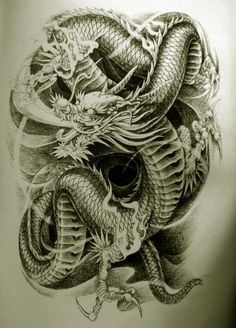 Free Dragon Tattoo Designs | Oriental Dragon Tattoo Designs Style 22 - Free Download Tattoo #17020 ...