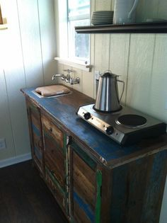 Tiny House Talk - Small Spaces More Freedom | Modern and Rustic Tiny House For Sale in Austin Texas | http://tinyhousetalk.com