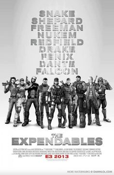 The Expendables - Gamer Edition