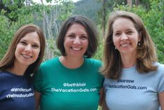 Meet Jennifer, Kara & Beth--The Vacation Gals are three professional travel writers — and moms — who are eager to share our favorite destinations for family trips, girlfriend getaways and romantic escapes with our readers. Their award-winning travel blog also covers awesome travel gear, the latest travel news and helpful travel tips.
