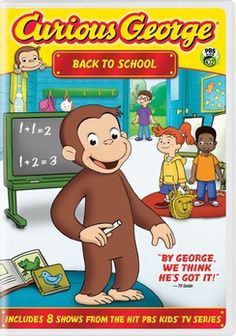 Shop Curious George: Back to School [DVD] at Best Buy. Find low everyday prices and buy online for delivery or in-store pick-up. Pbs Kids, Kids Tv, New Things To Learn, Cool Things To Buy, First Day Of School, Back To School, Wheels On The Bus, Library Services, Local Library