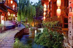 The Old Town of Lijiang, Yunnan, China