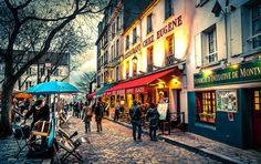 Montmartre Paris France Transforming the way we travel http://yourbesttraveler.com