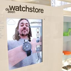 Idea for Trade set up Dezeen's pop-up shop of the future at London department store Selfridges demonstrates how augmented reality technology could transform retail. Retail Technology, Augmented Reality Technology, Dezeen Watch Store, Digital Retail, Retail Concepts, Retail Experience, Apps, Digital Signage, Retail Shop