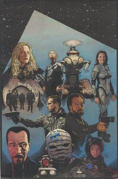 Splash Page Comic Art :: For Sale Artwork :: Lost in Space by artist Tim Bradstreet