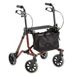 Leichtgewicht-Rollator, der mit Sicherheit und Komfort die eingeschränkte Mobilität nach besten Möglichkeiten wieder herstellt.