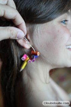 Ciloubidouille » Fabriquer des bijoux en crayon de couleur