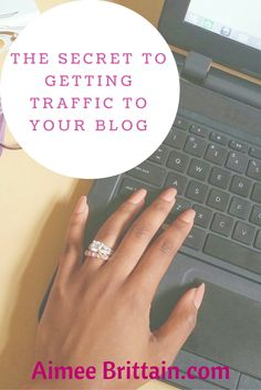 The Secret to Getting Traffic on Your Blog find out how to get traffic on your blog alot simpler than you think.
