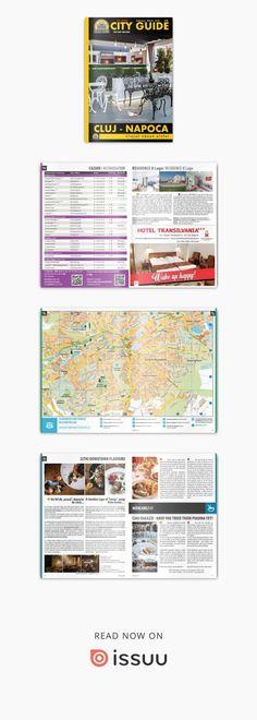 City Guide Cluj-Napoca (ediția feb. - mar. 2018)  Revista City Guide este tipărită în peste 5.000 de exemplare, cu apariție din două în două luni. Este distribuită în mod gratuit turiștilor și localnicilor la puncte strategice din oraș (centre de informare turistică, restaurante, hoteluri, cafenele, etc).