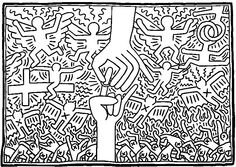 http://www.coloring-life.com/en/color-v3.php?lang=en&theme-id=935&theme=Keith Haring&image=coloriage-adulte-keith-haring-g-6.jpg  --------------- Keith haring