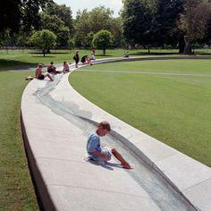© Hélène Binet Diana, Princess of Wales Memorial Fountain Gustafson Porter Landscape Architecture
