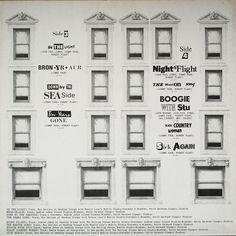 Led Zeppelin - Physical Graffiti (Vinyl, LP, Album) at Discogs Led Zeppelin Vinyl, Led Zeppelin Albums, Led Zeppelin Physical Graffiti, Vinyl Records, Album Covers, Physics, Gallery Wall, Artwork, Lp Album