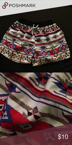 Board Shorts Red | White | Blue | Black | Aztec | Board Shorts | XXL | Fits as a Large Swim Coverups