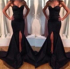 Black Tube Top Sexy Dress Sleeveless Fashion Women