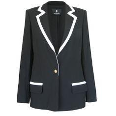 BILL BLASS $1930 black SS12 runway blazer Jeffrey Monteiro jacket coat 10/46 NEW