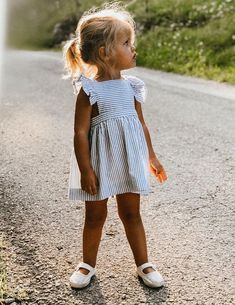A boho summer look for little ladies! A summer boho look for the . - A boho summer look for little ladies! A summer boho look for the little ones! … Source by sampricenazer - Little Girl Outfits, Little Girl Fashion, Toddler Fashion, Toddler Outfits, Child Fashion, Little Girl Style, Cute Baby Outfits, Cute Kids Fashion, Teen Fashion