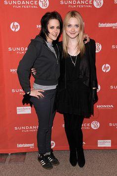 "Kristen Stewart and Dakota Fanning Photos - 2010 Sundance Film Festival - ""The Runaways"" Premiere - Zimbio"