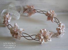 corona trenza flores por Ayalga en Etsy, €20.00