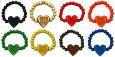 Wood Junkie Pearl Bracelet 9mm One Love - Urban Classics-Shop.nl