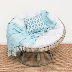 Whether your furnishing your holiday home or just want that all year round coastal feel in your home the Kubu Papasan is it. Add an exotic touch to your home wi