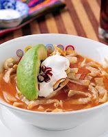 Sopa de Tortilla - Recetas Mexicanas
