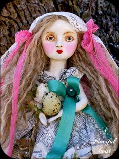 A Fanciful Twist Theatre Presents  The Fairy Tale Forest~ Art Dolls  handmade byVanessa Valencia