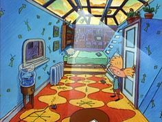 Hey Arnold architecture t Hey arnold House and Room Hey Arnold, Arnold Wallpaper, Arnold House, Arnold And Helga, 90s Cartoons, 90s Nostalgia, Cartoon Shows, Cartoon Cartoon, Googie