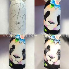 Cute Nail Art, Beautiful Nail Art, Cute Nails, Fruit Nail Designs, Cute Nail Designs, Disney Acrylic Nails, Funny Disney Pictures, Mickey Nails, Galaxy Nail Art