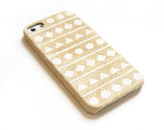 Leather iPhone 5 case, Suede iPhone case, iPhone 4s case, iPhone 4 case, Ethnic iphone case, Geometric iphone case