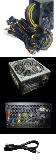 computer parts: Shark 1200W 120Mm Cooling Fan Quad-Core Gaming Pc 2X Pcie Atx 12V Power Supply -> BUY IT NOW ONLY: $86.0 on eBay!