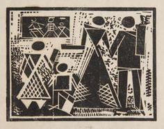 """Varvara Stepanova, """"Sin título"""", 1920. Museo Estatal de Arte Contemporáneo, Moscú. #ProgramaNosotras"""