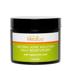 Natural Acne Solution Moisturizer. Helps cure acne and control oil with organic botanicals. Keeps skin soft and clear without oil and chemicals. $24.99 #parabenfree #noaninaltesting #madeinusa #organicbotanical
