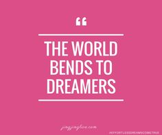 The world will bend FOR YOU, when you are on fire for your dreams. jingjinglive.com #effortlessdreamscometrue