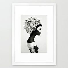 Marianna - Ruben Ireland & Jenny Liz Rome  Framed Art Print