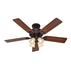 Augusta 52 in. New Bronze Ceiling Fan-for my living room