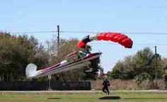 A Cessa Collides With A Skydiver in Tampa Bay Florida. For more information visit http://www.zerosixright.com/parachutist-and-skydiver-collide-in-tampa-florida/