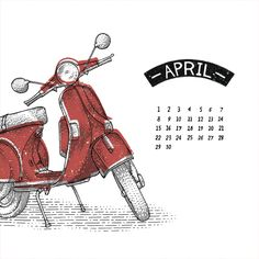 very cool calendar!