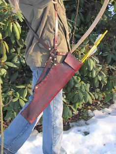 Arrow Quiver for Archery by HawkStudio on Etsy, $105.00