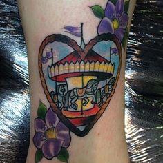 Cute tattoo by Amy V Savage.