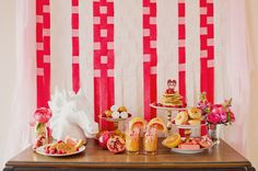 Breakfast in bed spread. Yum. Photography by scarletoneillphotography.com, Concept, Styling   Coordination by lovebylynzie.com, Floral Design by sweetwoodruff.ca