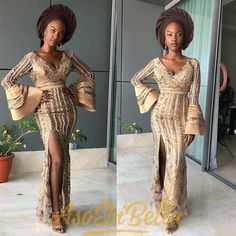 Reliable African based Nigerian News/Media portal For Breaking News, African Wedding, entertainment news Gossip, inspiring & motivating ideas, projecting vibrant posibility of Africa Aso Ebi Lace Styles, Latest Aso Ebi Styles, Ankara Styles, African Lace Dresses, African Fashion Dresses, African Clothes, Ankara Fashion, Aso Ebi Dresses, Lace Back Wedding Dress