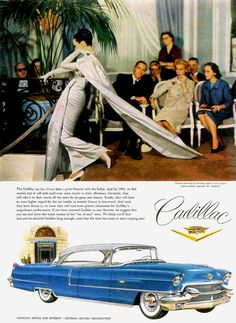 Classiness with the new 1956 Cadillac