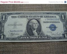 1935C silver certificate almost uncirculated by DrewsCollectibles, $6.50