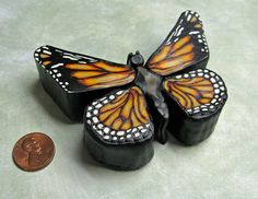 butterfly & penny...my two signs of Kendra - together!