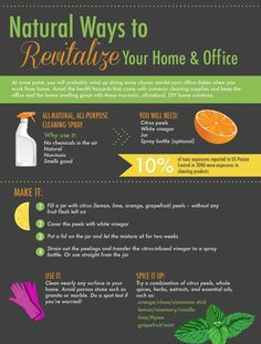 Natural ways to revitalize your home