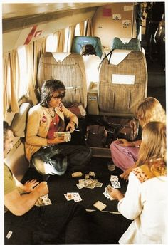 Keith Richards - that's a hell of a plane ride