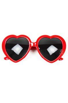 Heart Shape Sunglasses - OASAP.com