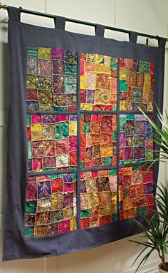 India's embroidered wallhanging
