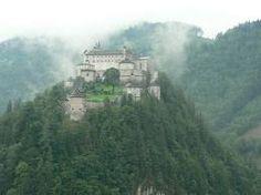 Hohenwerfen Castle, Salzburg, Austria.
